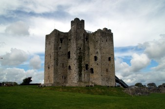 Trim Castle; temporary refuge for Maud and her son