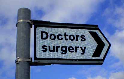 doctors-surgery-sign